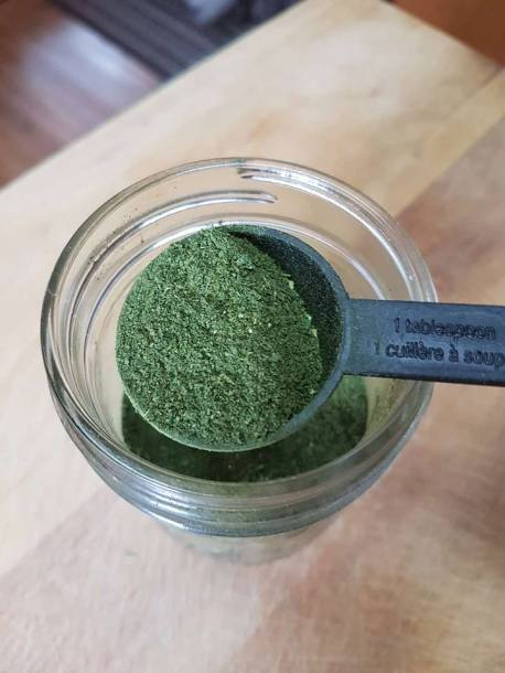 powdered kale